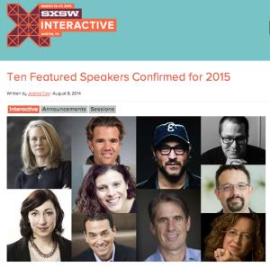 SXSW Interactive 2015